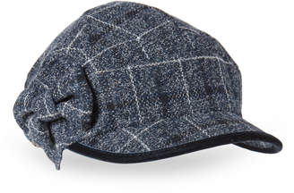 Betmar Plaid Bow Conductor Hat
