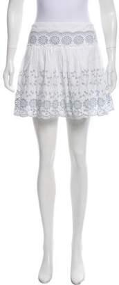 See by Chloe Pleating Mini Skirt