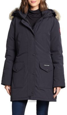 Canada Goose Trillium Fur-Trimmed Down Parka $895 thestylecure.com