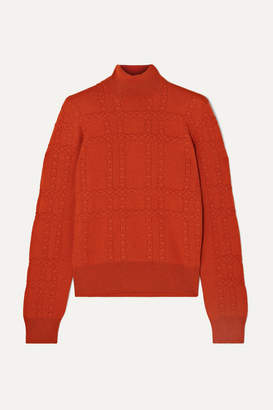 Bottega Veneta Cashmere Turtleneck Sweater - Red