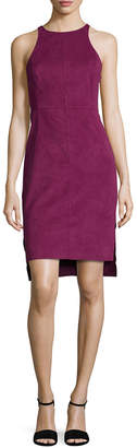 Halston Ultrasuede Camisole Dress