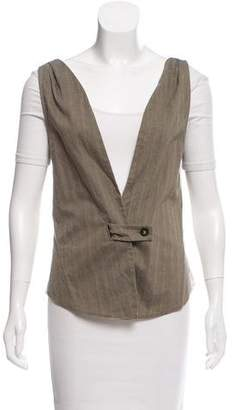Stella McCartney Striped Button-up Vest