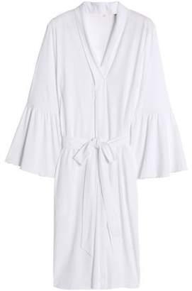 Skin Cotton-Jersey Robe
