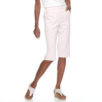 Croft & Barrow Women's Pull-On Skimmer Capris