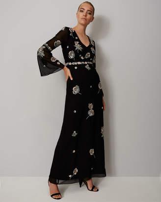 Phase Eight Miller Beaded Flower Dress