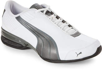 Puma White & Pewter Super Elevate Running Sneakers