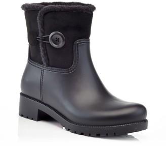Henry Ferrera Mindy Women's Water-Resistant Faux-Fur Rain Boots