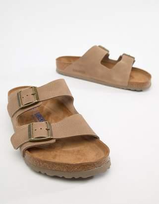 26ae6954221c77 Birkenstock Arizona SFB sandals in taupe leather
