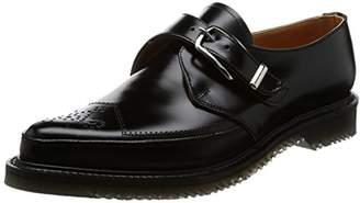 George Cox (ジョージ コックス) - [ジョージコックス] モンクストラップ M/G Monk 593 Leather 4462 Black Leather UK 6(24.5 cm)