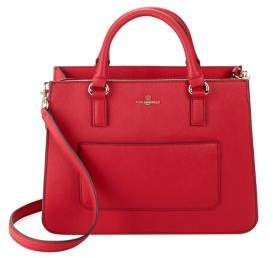 Karl Lagerfeld Paris Amelie Leather Satchel