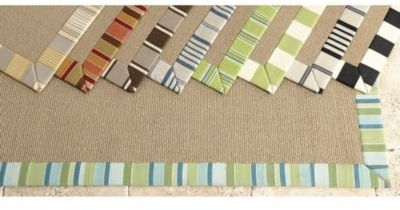 Customized St. Tropez Indoor/Outdoor Rugs -Stripe