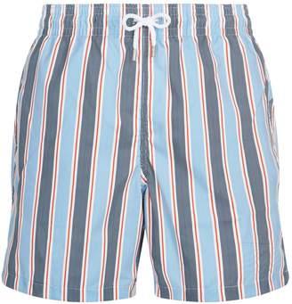 Derek Rose Striped Swim Shorts