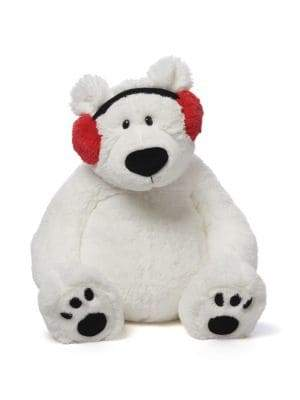 Gund Teddy Bear with Headphone Soft Toy