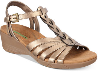 Bare Traps Honora Wedge Sandals $59 thestylecure.com