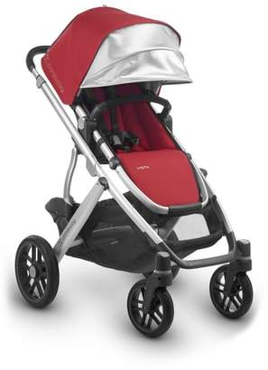 UPPAbaby 2018 VISTA Aluminum Frame Convertible Complete Stroller with Leather Trim