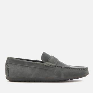 HUGO Men's Travelling Dandy Suede Moccasin Shoes