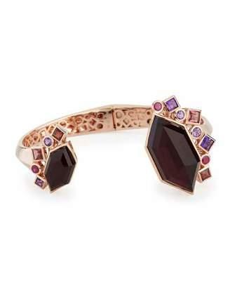Stephen Webster Gold Struck Garnet, Ruby & Amethyst Bracelet