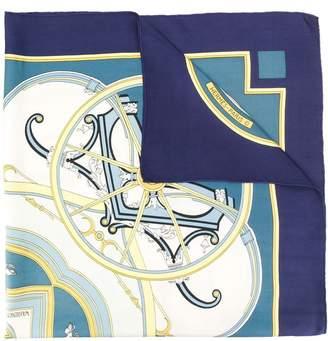 Hermes Pre-Owned 1970's silk foulard