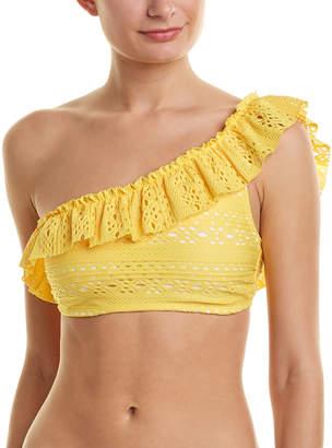 Shoshanna One-Shoulder Bikini Top