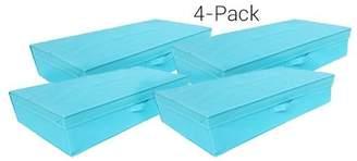 Rebrilliant Folding Box Fabric Underbed Storage