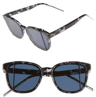 Women's Dior Dior Steps 55Mm Sunglasses - Green/ Havana