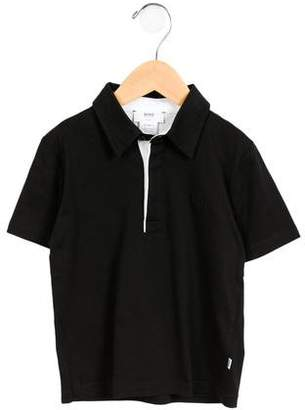 HUGO BOSS Boss by Boys' Pointed Button-Up Shirt