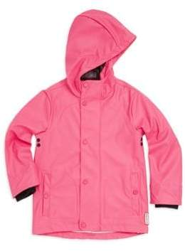 Hunter Little Girl's Waterproof Raincoat