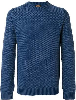 Tod's textured crew neck sweater
