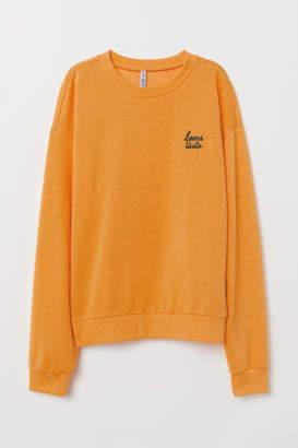 H&M Sweatshirt - Yellow