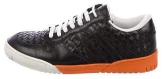 Bottega Veneta Intrecciato Low-Top Sneakers