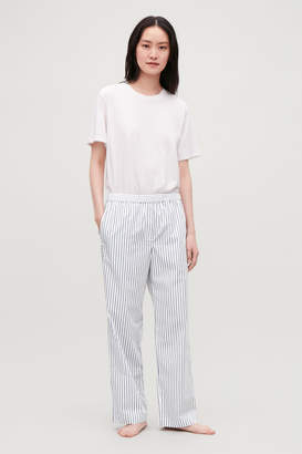 Cos SLIM STRIPED PYJAMA TROUSERS