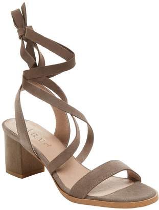 Firth Women's Block Heel Lace-Up Sandal