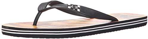 DC Men's Spray Graffik Flip-Flop Sandal