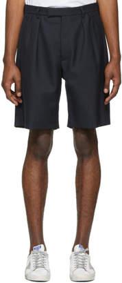 Golden Goose Navy Kenan Shorts