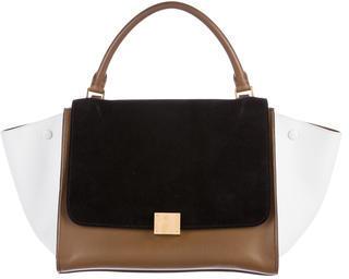 CelineCéline Tricolor Medium Trapeze Bag