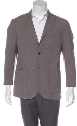 L.B.M. 1911 Patterned Wool Blazer