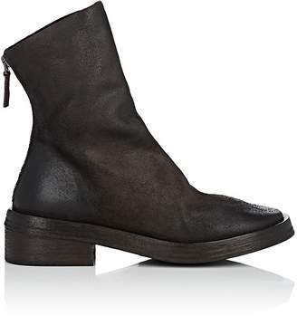 Marsèll Women's Back-Zip Leather Ankle Boots