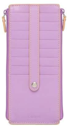 Lodis Joan RFID Leather Double Zip Card Case