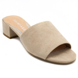Rampage Malista Women's Block Heel Sandals