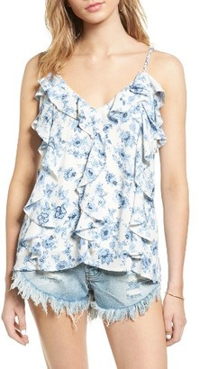 Women's Moon River Ruffle Camisole $70 thestylecure.com