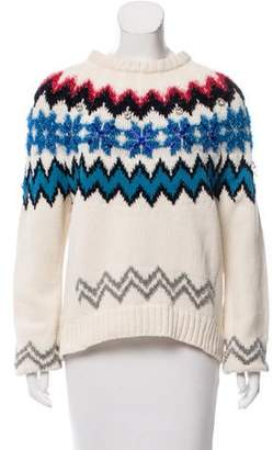 Muveil Embellished Wool Sweater w/ Tags