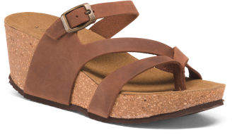 fae8d0bfa66 Wedge Sandals Made In Italy - ShopStyle