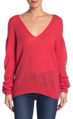 Free People Gossamer V-Neck Sweater