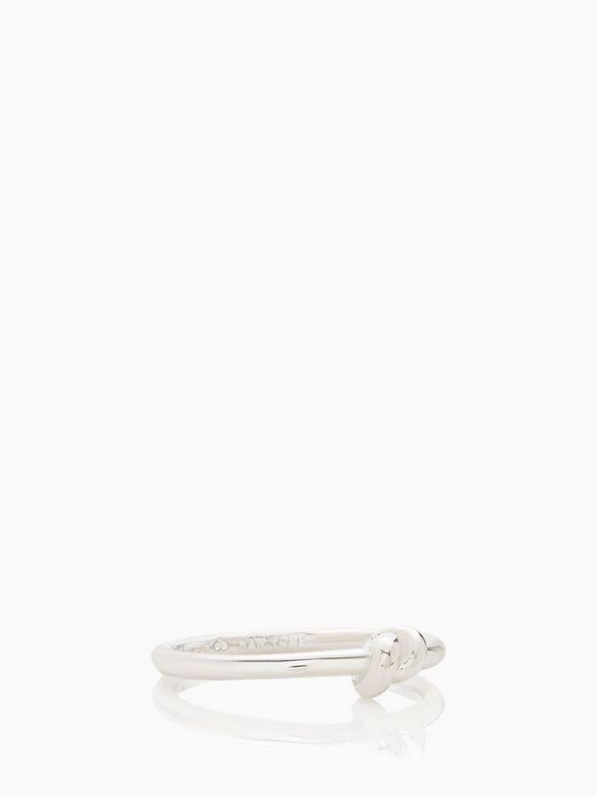 Kate Spade Sailor's knot ring