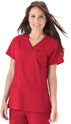 c98bbdba688 Jockey Women's Scrubs Multi-Pocket Top