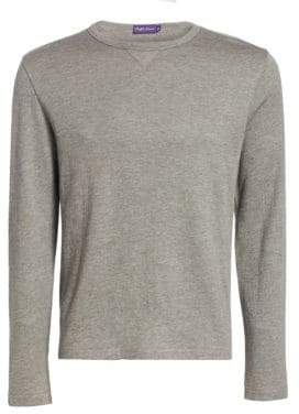 Ralph Lauren Purple Label Long-Sleeve Wool-Blend Shirt