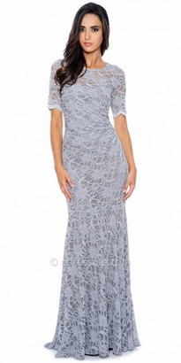 Decode 1.8 Sparkling Lace Fitted Evening Gown $258 thestylecure.com