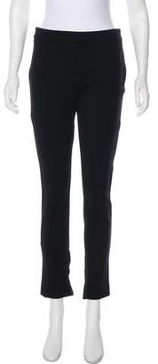 Valentino Mid-Rise Cropped Pants
