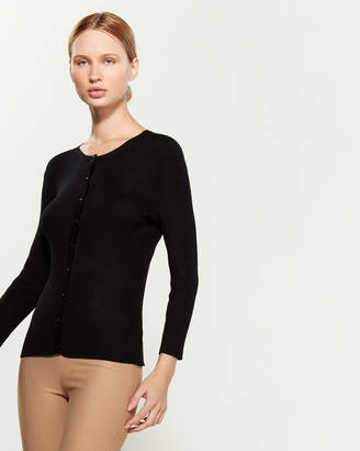 Cable & Gauge Ribbed Button Cardigan
