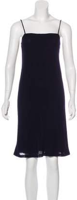 Donna Karan Wool Slip Dress